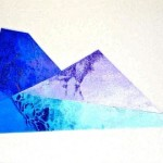 """Mountain Scape"" (16 1/2"" x 22 1/2"")   Mixed Medium on Paper"