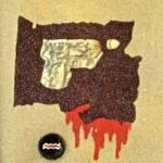 """Guns Do Kill"" of Bottle Cap Book"