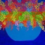 """""""Bouquet""""  (24"""" x 36"""")   Acrylic on Canvas"""