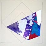 """Eruption""  (16"" x  20"")        Mixed Medium on Paper"