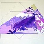 """Mt. Everest""  (16"" x 24"")       Mixed Medium on Paper"